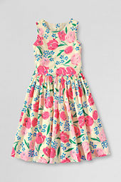Girls' Print Woven Dress