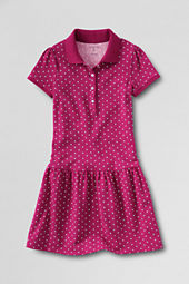 Girls' Short Sleeve Pretty Polo Dress