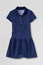 Girls' Pretty Polo Dress