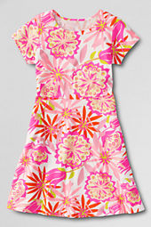 Girls' Short Sleeve A-line Dress