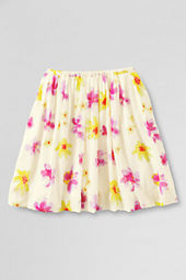 Girls' Woven Full Printed Skirt