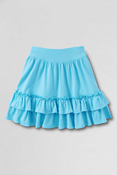 Girls' Full Ruffle Tiered Skort