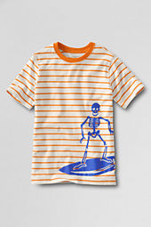Boys' Short Sleeve Stripe Graphic T-shirt