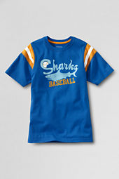 Boys' Short Sleeve Graphic Sport T-shirt