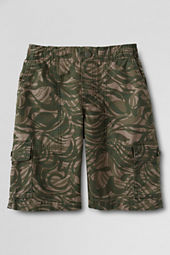 Boys' Pull-on Camo Cargo Shorts