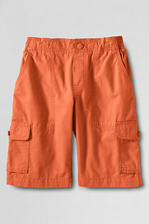 Boys' Ripstop Pull-on Cargo Shorts