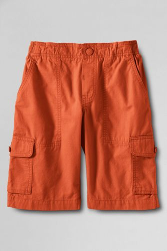 Little Boys' Ripstop Pull-on Cargo Shorts