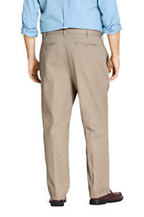 Men's Big and Tall Traditional Fit No Iron Chino Pants, Back
