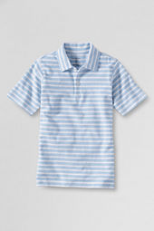 Boys' Self Collar Stripe Polo Shirt