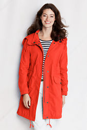 Women's Long Sleeve Hooded Anorak