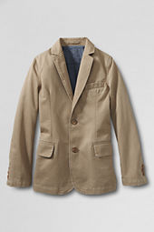 Boys' Washed Chino Blazer