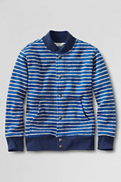 Boys' Stripe Dugout Jacket