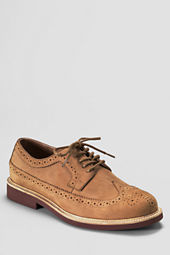 Men's Archer Premium Long Wingtip Buck Shoes