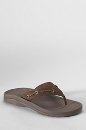Men's Leather Toe-post Sandals