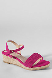 Women's Pippa Plaited Suede Wedge Sandals