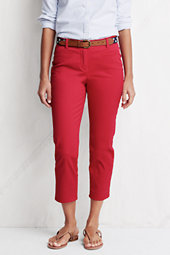 Women's Stretch Cropped Chinos