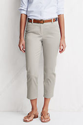 Women's Fit 2 Clean Front Chino Crop Pants