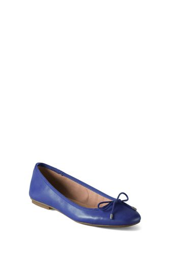 Women's Wide Bianca Bow Ballet Shoes