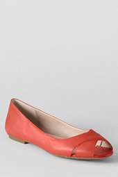 Women's Blythe Peep-toe Ballet Shoes