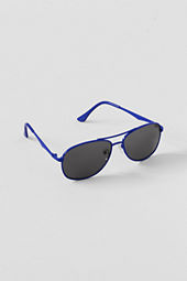 Boys' Colored Metal Aviator Sunglasses