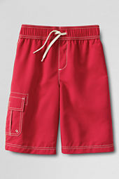Boys' Single Pocket Cargo Swim Trunks
