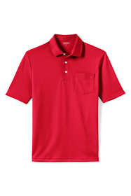 Men's Short Sleeve Supima Polo Shirt with Pocket