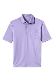 Men's Tall Short Sleeve Super Soft Supima Polo Shirt with Pocket