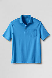 Men's Short Sleeve Supima Pocket Polo Shirt