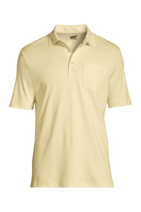 Men's Tall Super Soft Supima Polo with Pocket, Best Tall Polos ...
