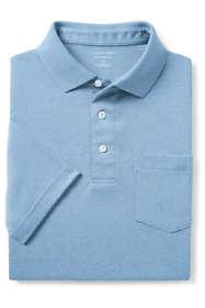 Men's Supima Short Sleeve Polo Shirt with Pocket