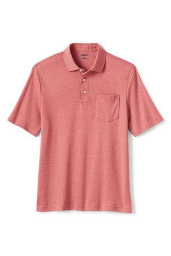 Supima® Kurzarm-Polo mit Brusttasche für Herren, Classic Fit