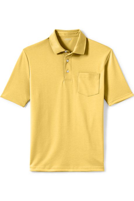 Men's Supima Short Sleeve Polo Shirt with Pocket