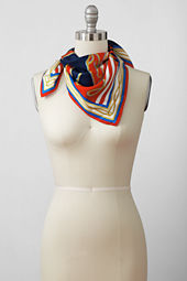 Women's Nautical Mix Silk Square