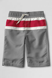 Boys' Colorblock Swim Trunks
