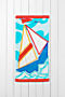 Ocean Blue Sailboat Thumbnail 0