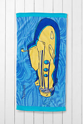 Kids' Submarine Mini Beach Towel