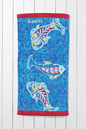 Kids' Fish Mini Beach Towel
