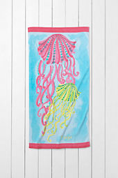 Kids' Jellyfish Mini Beach Towel
