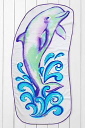 Kids' Dolphin Beach Towel