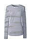 Le T-Shirt de Bain Rayé Col Rond Femme, Taille Standard