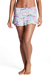 Women's Beach Living Island Floral Flounce Mini SwimMini