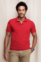 Men's Vintage Garment Dyed Pique Polo