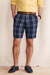 Men's Comer 608 Slim Fit Linen Shorts