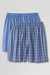 Men's 2-pack Broadcloth Boxers