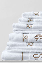 Supima Embroidered Diamond 6-piece Towel Set