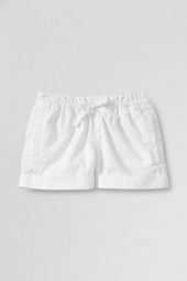 Girls' Solid Pull-on Shorts