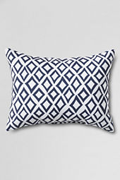 "12"" x 16"" Outdoor Diamond Decorative Pillow"