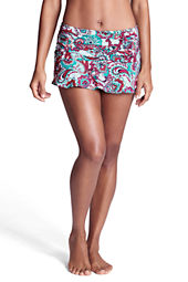 Women's Beach Living Tahiti Paisley Flounce Mini SwimMini