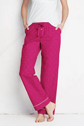 Women's Swiss Dot Poplin Pants