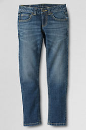 Girls' 5-pocket Iron Knee® Denim Jeans